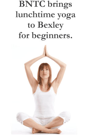 BNTC brings lunchtime yoga to Bexley for beginners